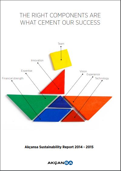 Akçansa Sürdürülebilirlik Raporu 2014-2015