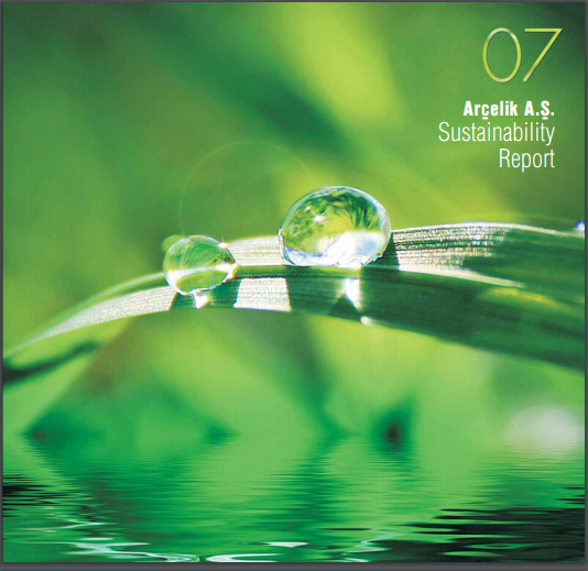 Arçelik A.Ş. Sustainability Report 2007