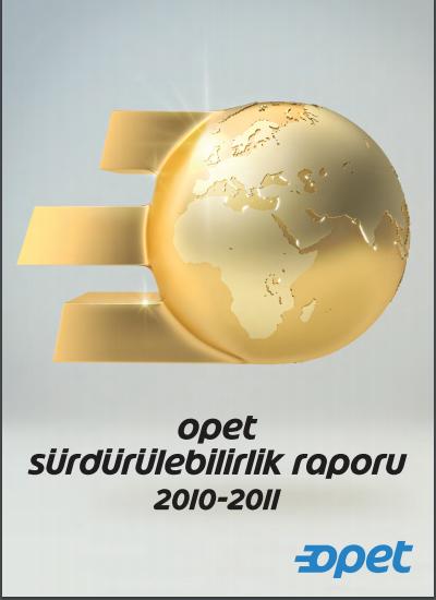 Opet Sürdürülebilirlik Raporu 2010-2011