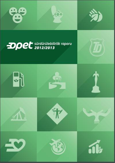 Opet Sürdürülebilirlik Raporu 2012-2013