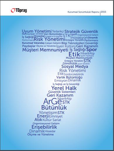Tüpraş Kurumsal Sorumluluk Raporu 2015