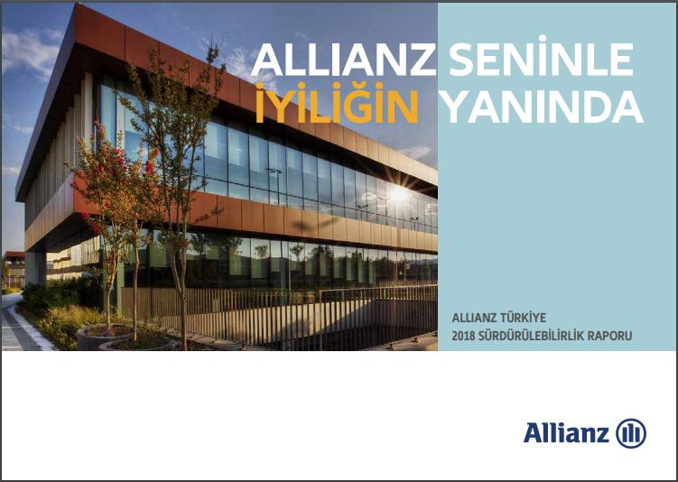 Allianz Türkiye  Sürdürülebilirlik Raporu 2018