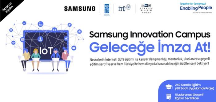 Samsung İnovasyon Kampüsü Eğitim Programı ile Gençler Geleceğe Hazırlanıyor