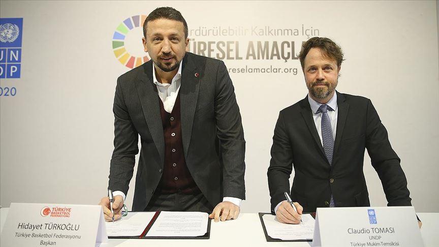 Türkiye Basketbol Federasyonu'ndan İklim Eylemi İmzası